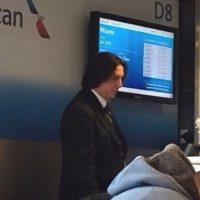 Y alguien encontró al villano en una aerolínea Foto:vía twitter.com /CL_Hellisen