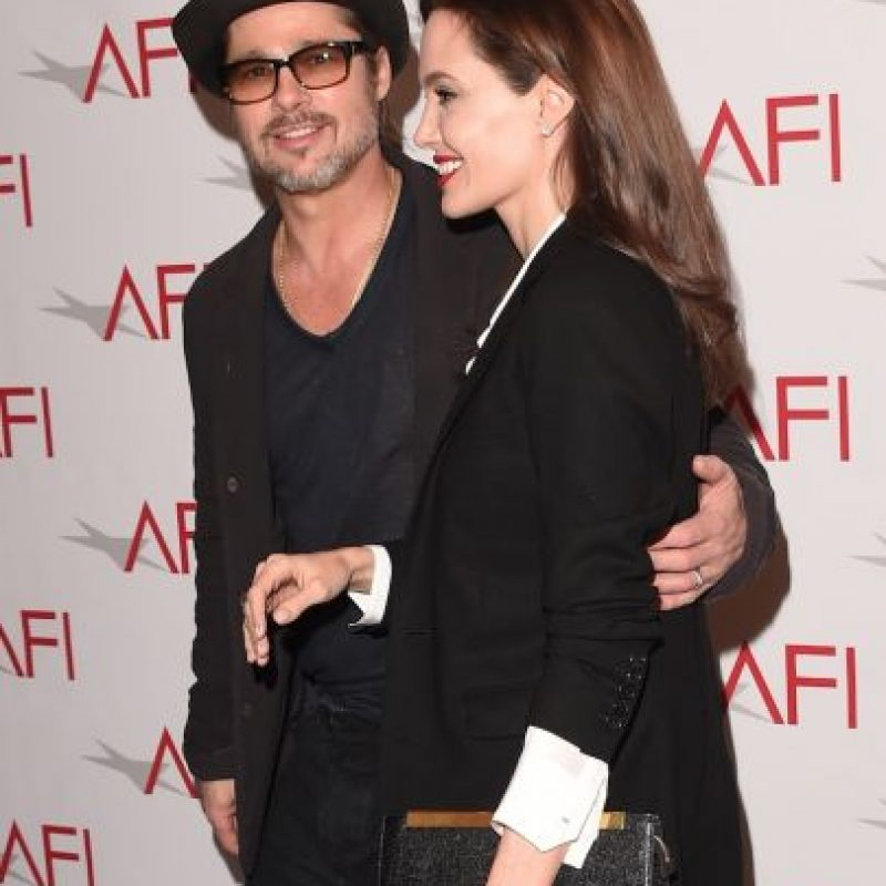 El 23 de agosto de 2014, se convirtieron en esposos luego de formar una de las familias más extensas de Hollywood. Foto:Getty Images
