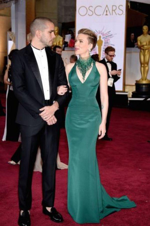 En diciembre de 2014, la actriz Scarlett Johansson se casó en secreto con el periodista francés Romain Dauriac. Foto:Getty Images