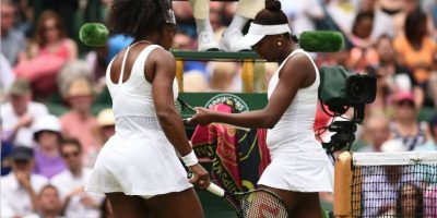 FOTOS. Así fue la batalla entre las Williams en Wimbledon