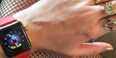 La cantante Katy Perry fue de las primeras en mostrar el Apple Watch antes de su preventa. Foto:instagram.com/katyperry
