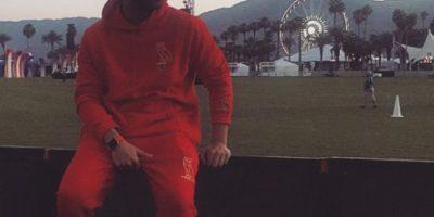 Drake, cantante de pop, posó el modelo y como fondo el festival Coachella. Foto:instagram.com/champagnepapi