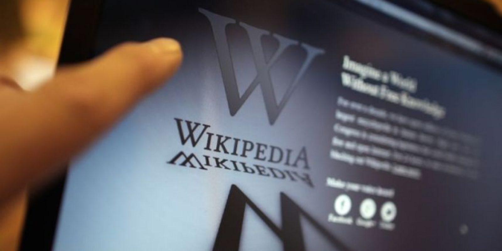 Wikipedia tiene más de 200 millones de usuarios. Foto:Getty Images