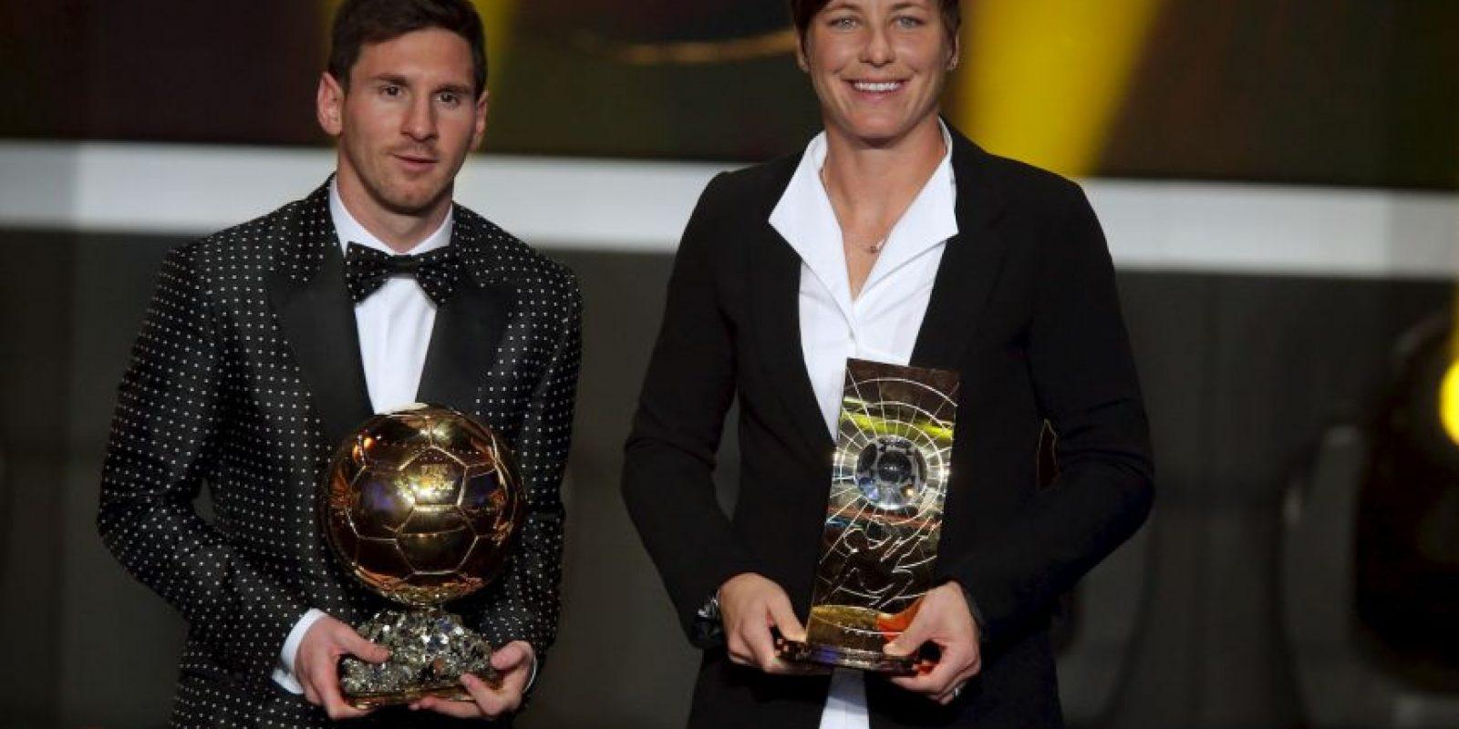 """Es decir, fue la """"Balón de Oro"""" femenina en ese año. Foto:Getty Images"""
