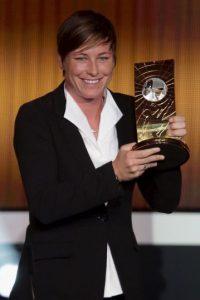 En 2012, fue reconocida por la FIFA como la Mejor Jugadora del Mundo. Foto:Getty Images
