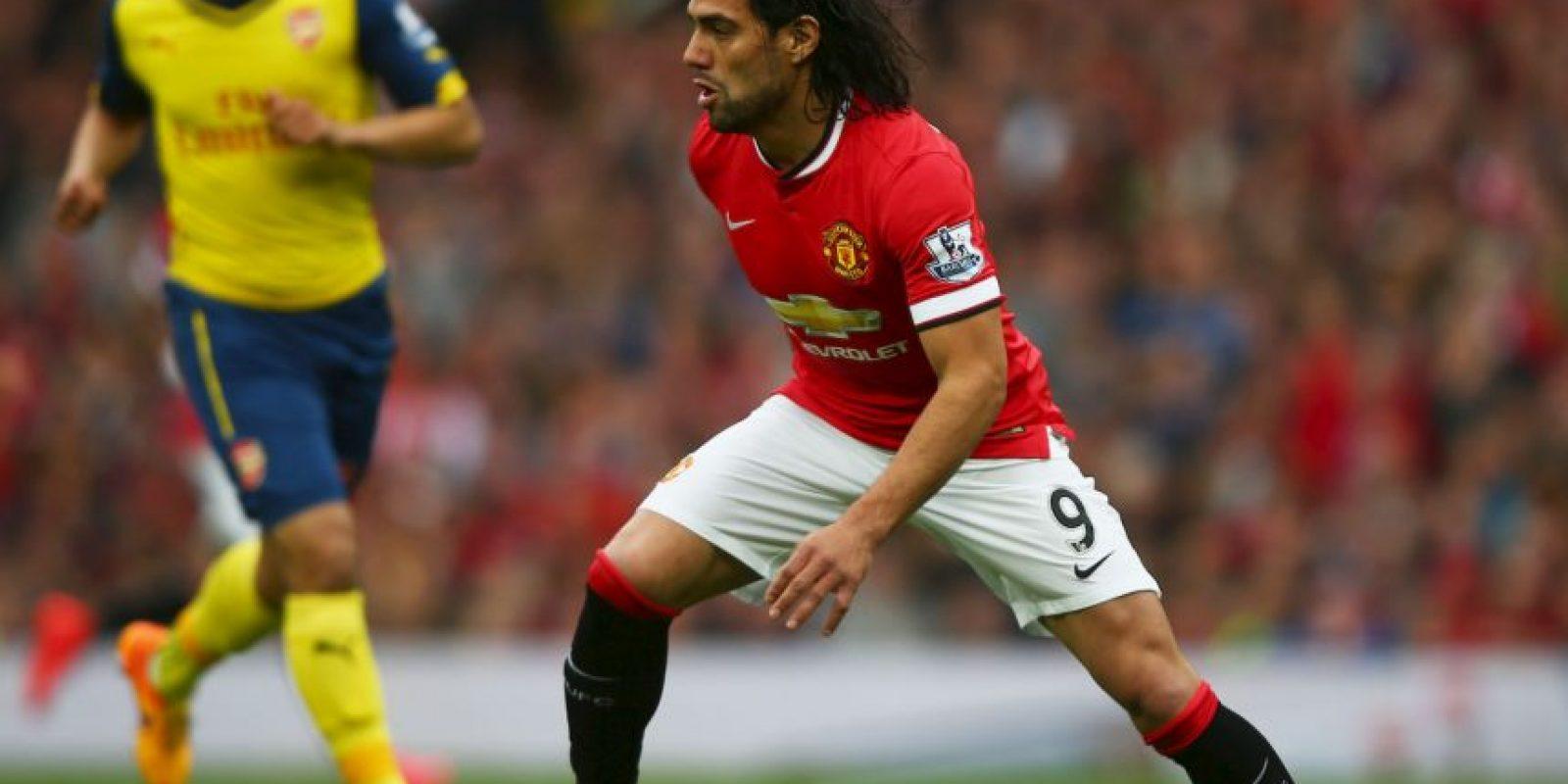 Luego de su irregular campaña con el Manchester United, Radamel Falcao militará con el Chelsea Foto:Getty Images