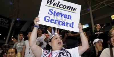 De ídolo a desconocido: En Estados Unidos no saben quién es Steven Gerrard