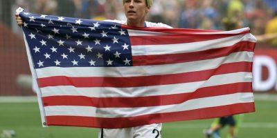 Wambach ha sido seis veces galardonada con el premio al Atleta del Año en Estados Unidos. Foto:Getty Images