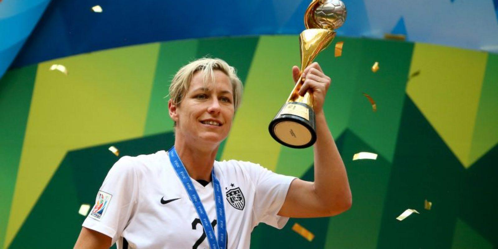 Con 35 años, Abby Wambach es de las futbolistas históricas de la selección femenina de Estados Unidos, a la que pertenece desde 2001. Foto:Getty Images