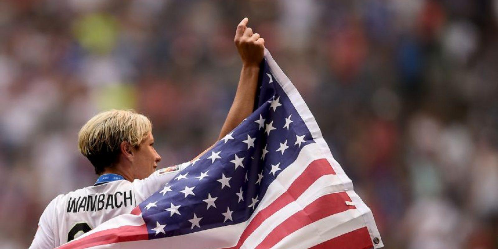 Con 183 goles, es la máxima anotadora de selecciones nacionales en partidos internacionales (incluyendo mujeres y hombres). Foto:Getty Images