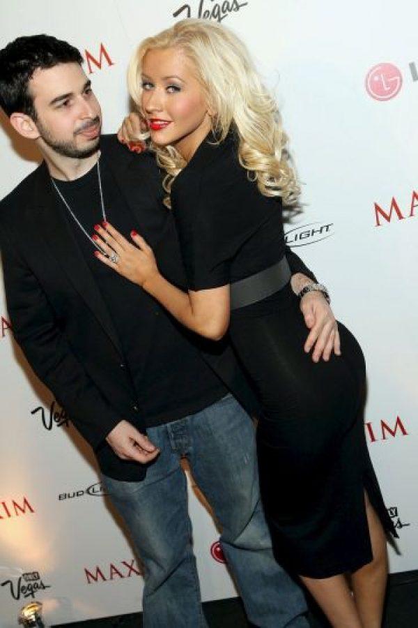 Sellaron su unión Christina Aguilera y Jordan Bratman. Foto:Getty Images