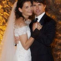 Tom Cruise y Katie Holmes gastaron 2 millones de dólares. Foto:Getty Images