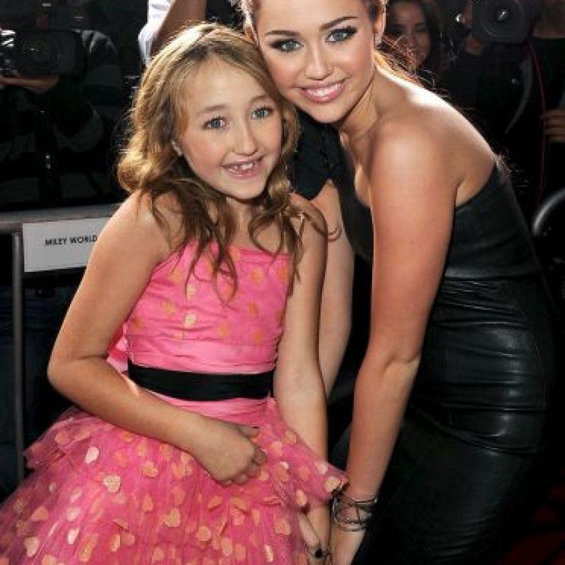 Miley Cyrus y Noah Cyrus Foto:Getty Images