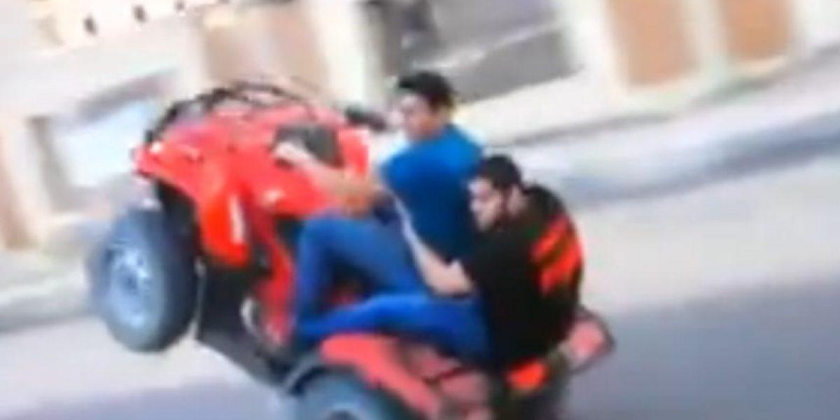 VIDEO: Si no saben manejar, nunca intenten hacer esto