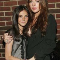 Aliana Lohan y Lindsay Lohan Foto:Getty Images