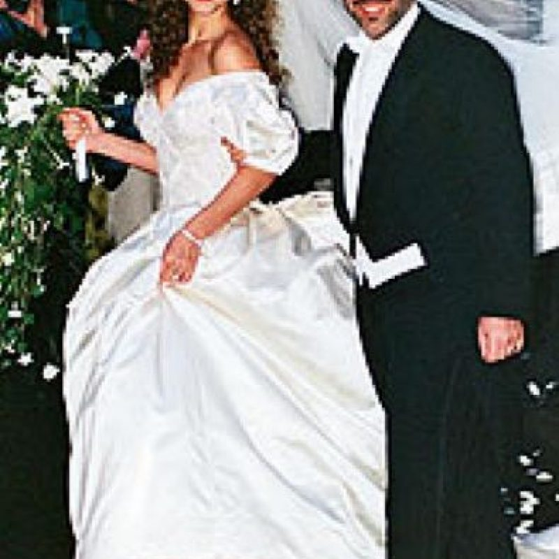 Mariah Carey y Tommy Mottola gastaron 500 mil dólares. Foto:Vía 20 minutos.es
