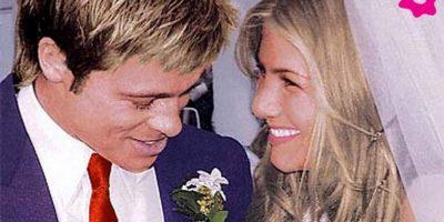 Brad Pitt y Jennifer Aniston gastaron un millón de dólares. Foto:Vía bodaclick.com