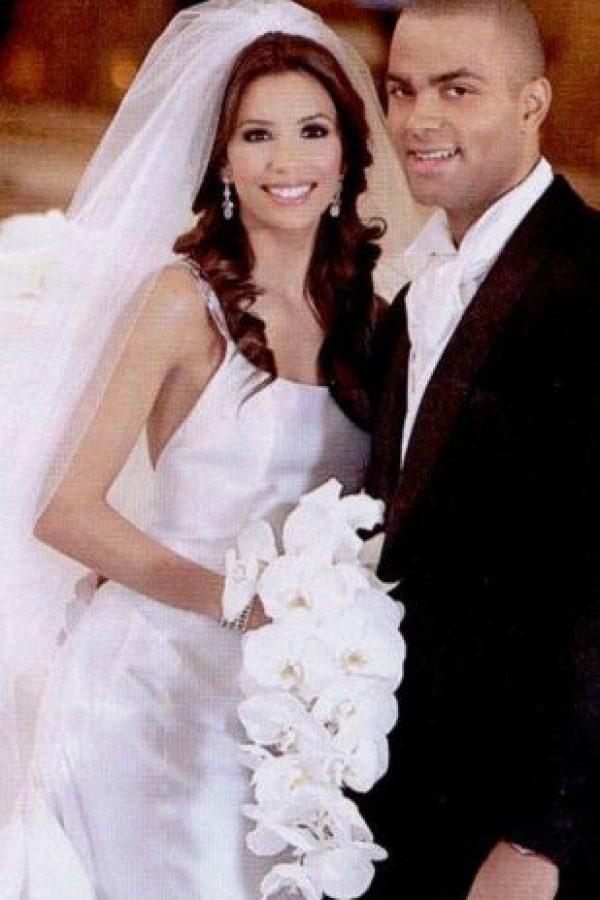 Eva Longoria y Tony Parker gastaron un millón y medio de dólares. Foto:Vía mariagesdestars.skyrock.com