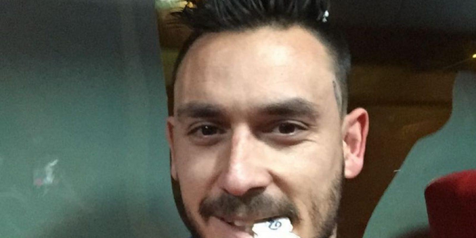 No jugó mucho, pero deleitó a sus miles de fanáticas con muchos selfies en sus redes sociales. Foto:Vía instagram.com/pinigol9
