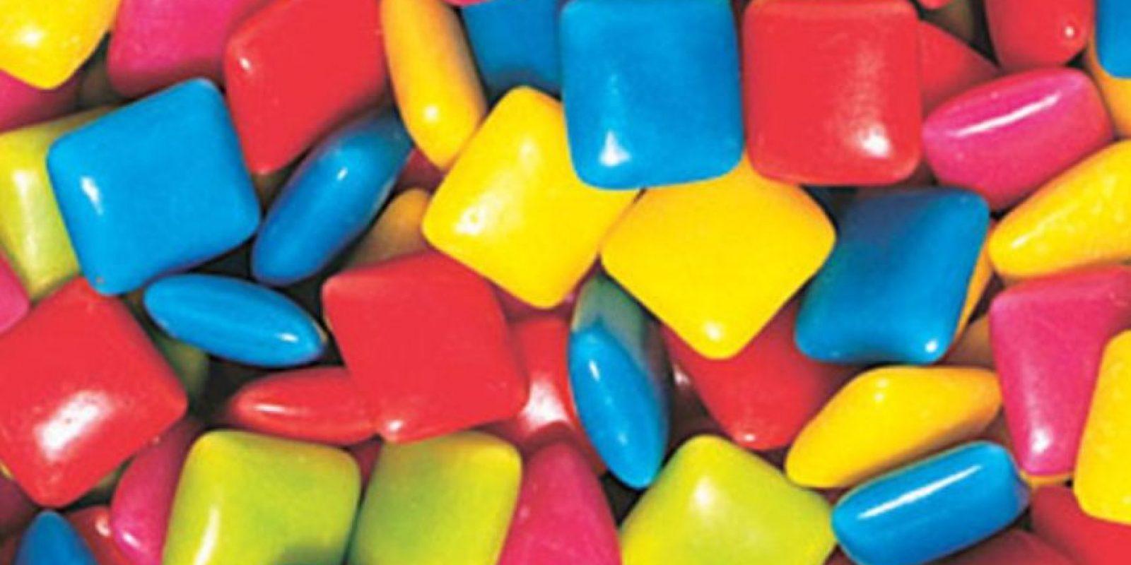 4. Los chicles sólo se deben masticar durante un máximo de 10 minutos, pues masticar por demasiado tiempo puede provocar problemas. Foto:Pinterest