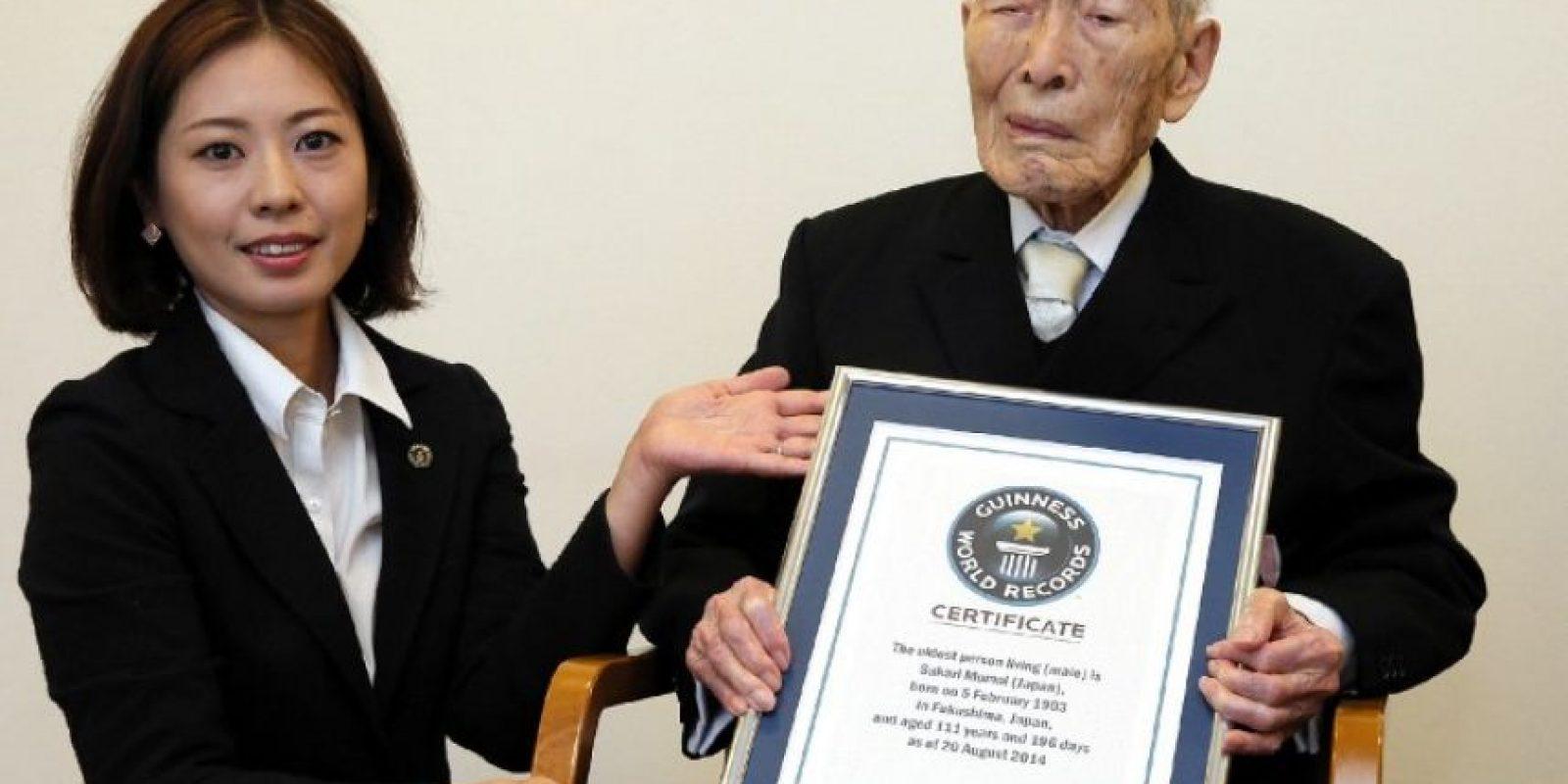Se trata del japonés Sakari Momoi Foto:AFP