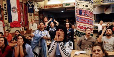 Los seguidores de la albiceleste no han podido regresar a casa luego de la final de la Copa América. Foto:AFP