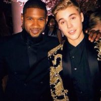 Usher Foto:Instagram.com/JustinBieber