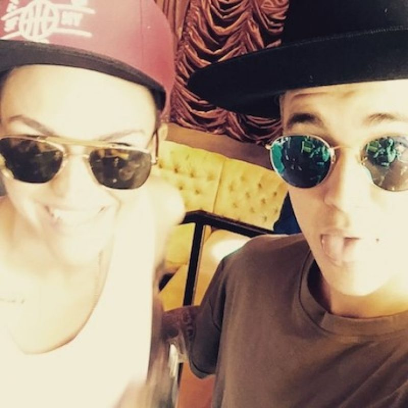 Ruby Rose, de Orange is the New Black Foto: Instagram.com/JustinBieber