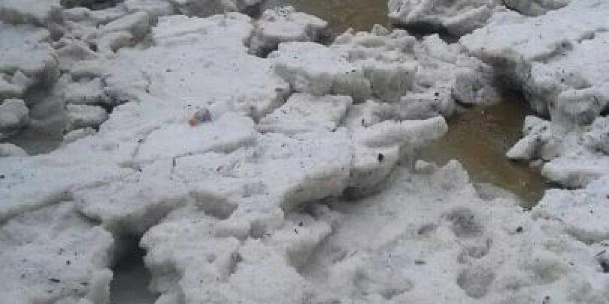 Fotos. Intenso calor y onda fría crea granizo destructor en Huehuetenango