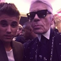 Karl Lagerfeld Foto:Instagram.com/JustinBieber