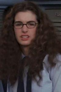 """De esta forma interpretó a la joven """"Mia Thermopolis"""". Foto:IMDB"""