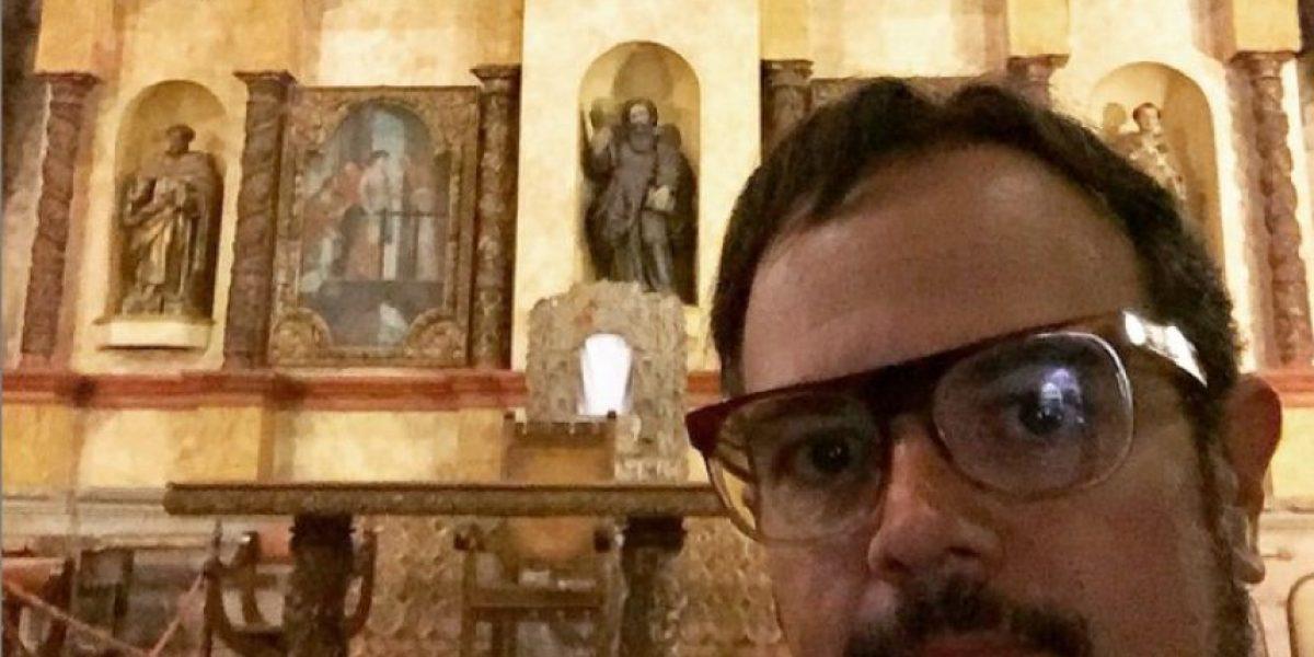 Fotos: Aleks Syntek se decanta con La Antigua Guatemala
