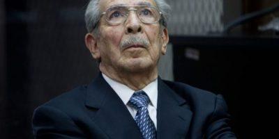 INACIF: Ríos Montt imposibilitado a continuar juicio por demencia senil