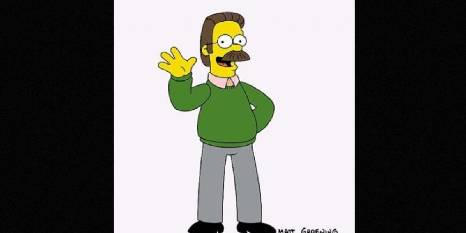 """Ned Flanders"" Foto: Facebook.com/TheSimpsons"