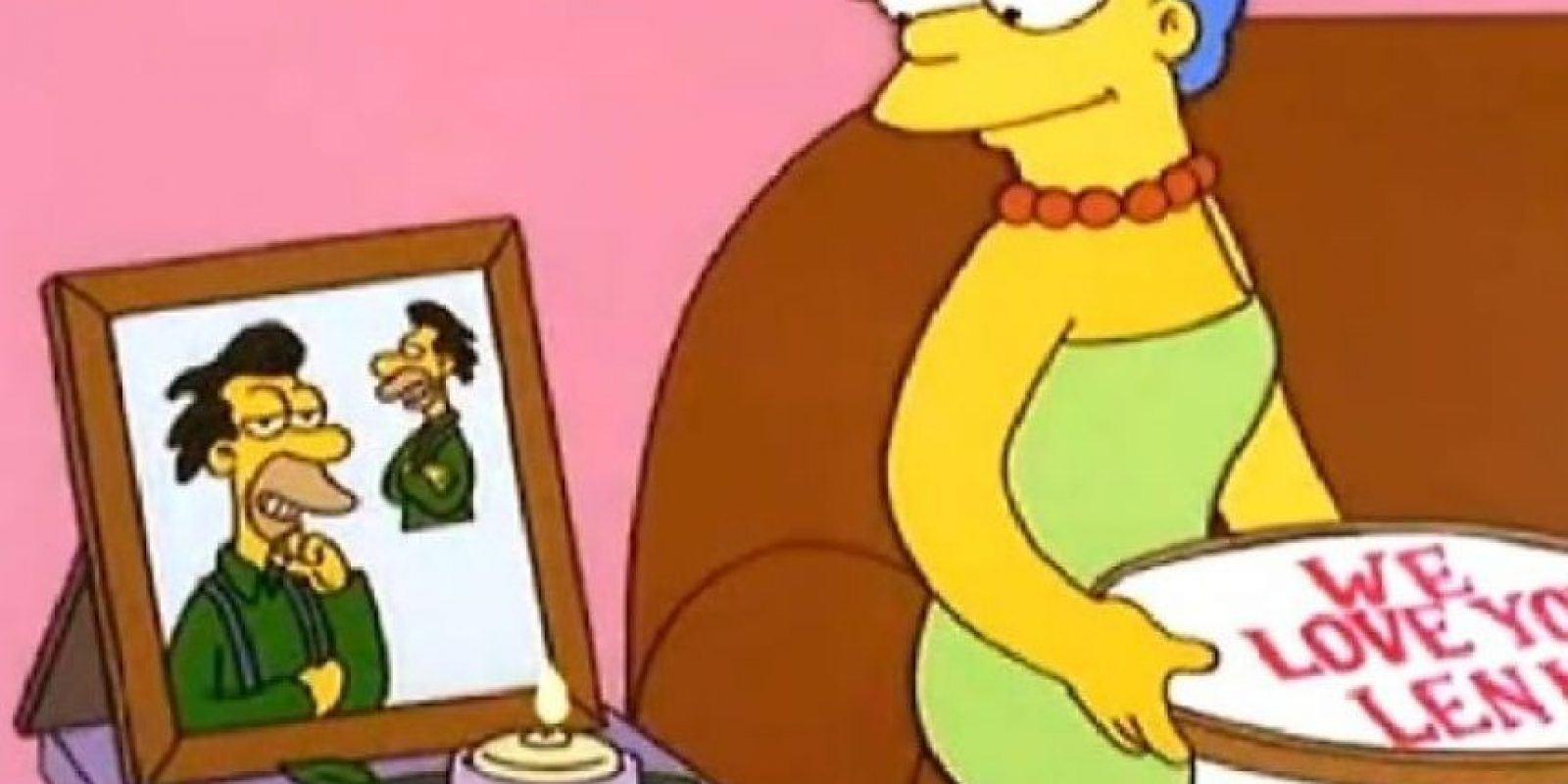 """Lenny"" Foto: Facebook.com/TheSimpsons"