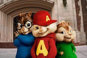 """""""Alvin y las Ardillas"""" es un grupo musical animado. Foto:IMDb"""