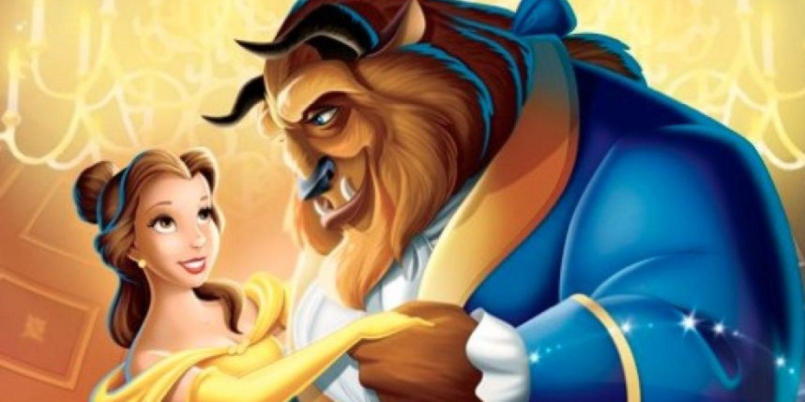 """""""La Bella y la Bestia"""" 1991 Foto:Disney"""