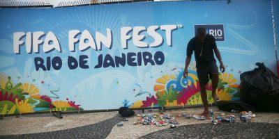 """3. 18 millones de dólares para los """"Fan Fest"""" en la pasada Copa del Mundo Foto:Getty Images"""
