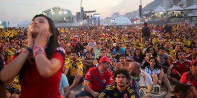 """Esta fue la cantidad que la FIFA invirtió en las 12 ciudades de Brasil que albergaron los """"Fan Fest"""", un lugar acondicionado para seguir los partidos del Mundial en pantallas gigantes, entre otras atracciones. Foto:Getty Images"""
