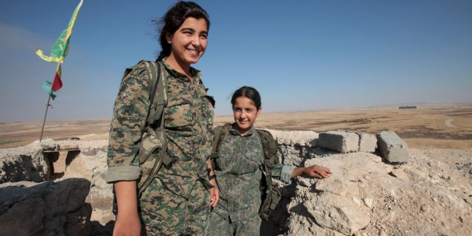5. Las YPG han combatido al Estado Islámico desde hace más de un año. Foto:Getty Images