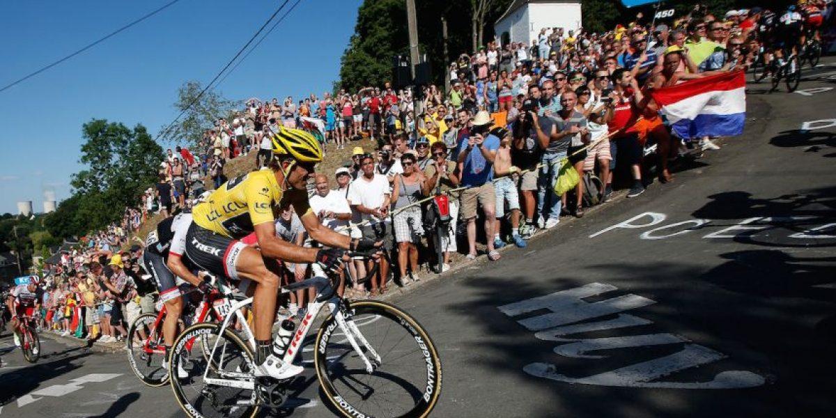 FOTOS: Aparatosa caída múltiple afecta tercera etapa del Tour de Francia