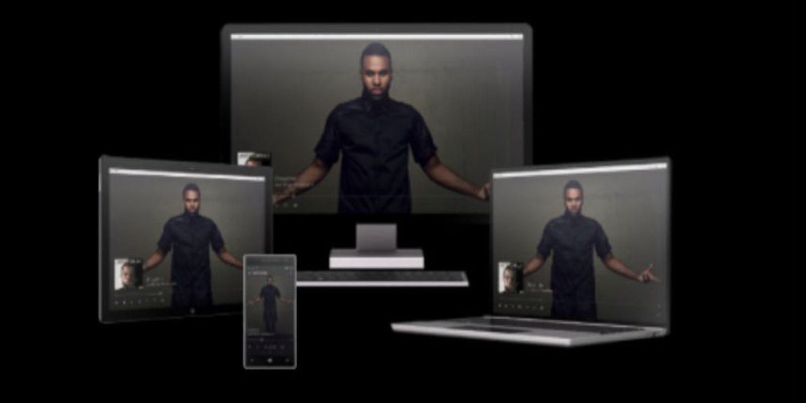 Este es el nuevo rostro de Xbox Music Foto:Microsoft