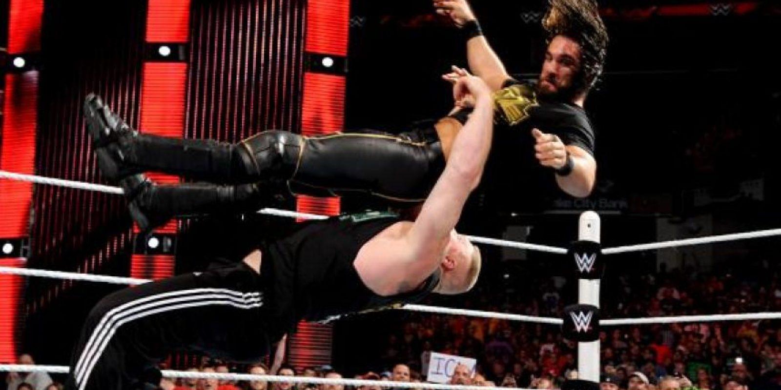 Se enfrentará con Rollins en Battleground, el próximo Pago Por Evento, que se llevará a cabo el próximo 19 de julio Foto:WWE