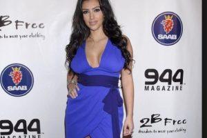 Acá debió Kim reclamarle a su diseñador. Foto:vía Getty Images