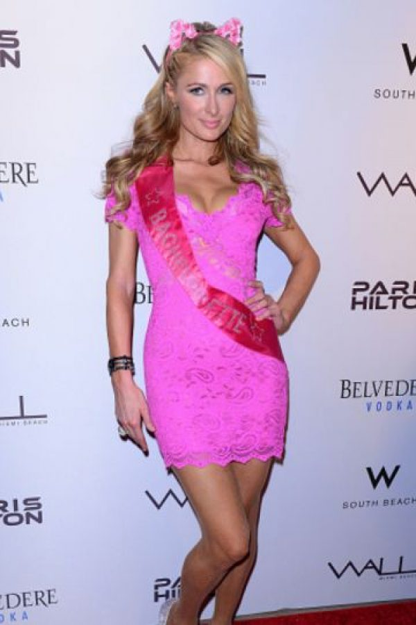 4. Paris Hilton. Foto: vía Getty Images