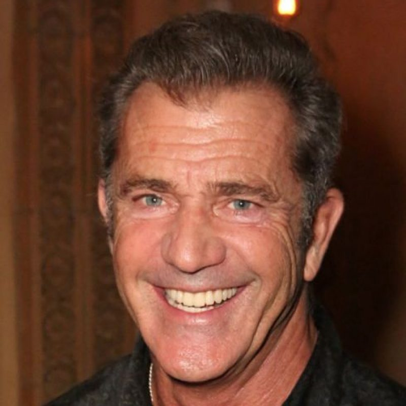 9. Mel Gibson. Foto: vía Getty Images
