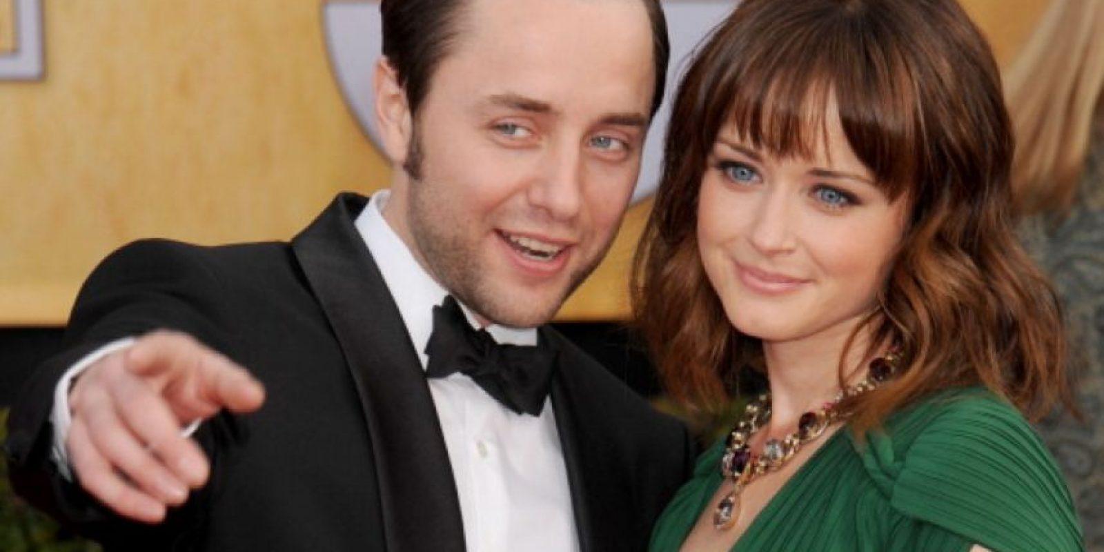 """Se conocieron en la serie """"Mad Men"""" y se casaron el año pasado. Foto:vía Getty Images"""