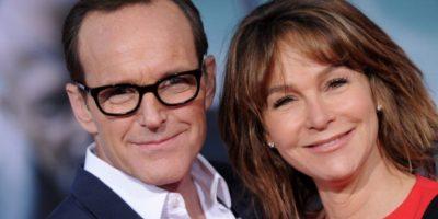 5. Clark Gregg y Jennifer Grey. Foto:vía Getty Images