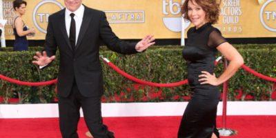 """El protagonista de """"Marvel Agents of S.H.I.E.L.D"""" está casado con la famosa protagonista de """"Dirty Dancing"""" desde 2001. Tiene una hija con ella. Foto:vía Getty Images"""