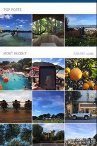 Los mejores resultados en la parte superior y los más recientes en la inferior Foto:Instagram